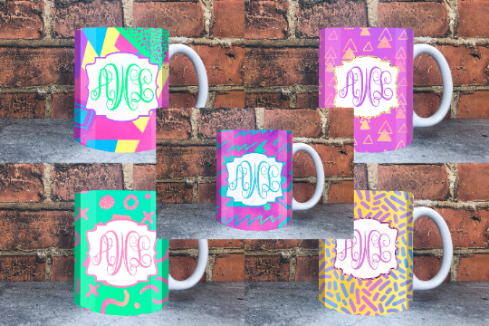 PNG - Sublimation Mug Designs