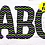 Thumbnail: DIGITAL Halloween Green and Purple Letters PNG Files