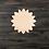 Thumbnail: Sunflower Wooden Cutout