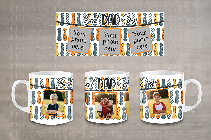 PNG - Father's Day Mug Design