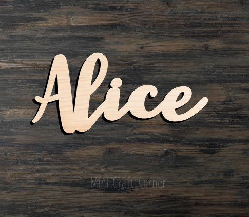 Wooden Name Sign4
