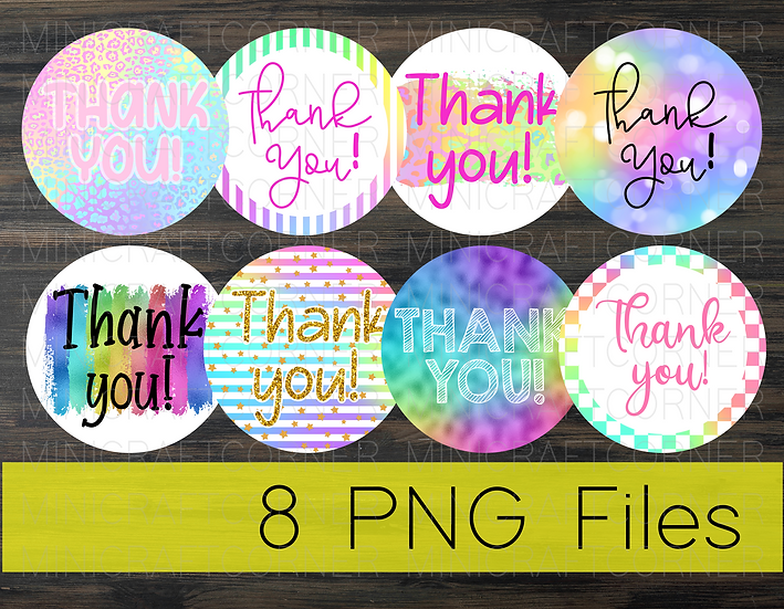 PNG - Rainbow Business Stickers