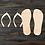 Thumbnail: Flip Flops Wooden Cutout