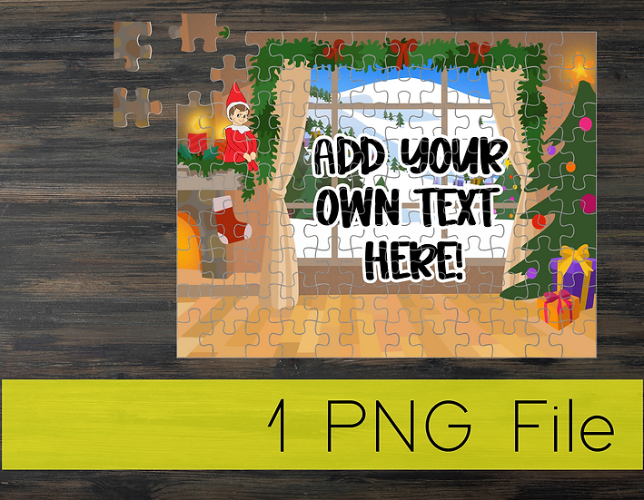 PNG - Elf Puzzle Design 2