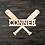 Thumbnail: Baseball Name Wooden Cutout
