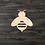 Thumbnail: Bumble Bee Wooden Cutout