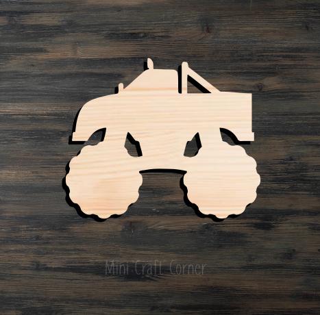 Monster Truck Cutout
