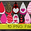 Thumbnail: PNG -Valentines Earrings Design File