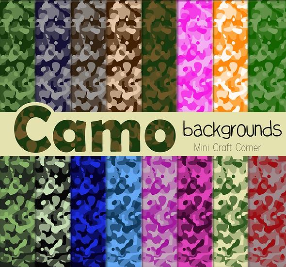 DIGITAL Camo Papers