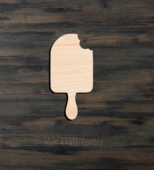 Popsicle Wooden Cutout