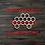 Thumbnail: Honeycomb Wooden Cutout 2
