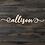 Thumbnail: Wooden Name Sign 2