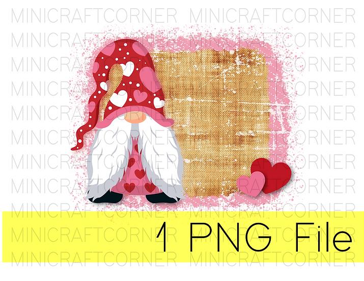 PNG -Gnome Valentines Design File