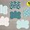 Thumbnail: DIGITAL Floral Dog Tag Files