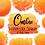 Thumbnail: DIGITAL Yellow Orange Ombre Watercolor Paint Splotch