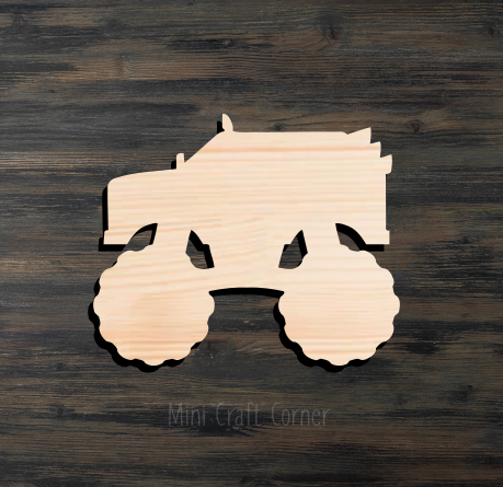 Monster Truck Cutout 2