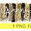 Thumbnail: PNG -Granny Cheetah Design File