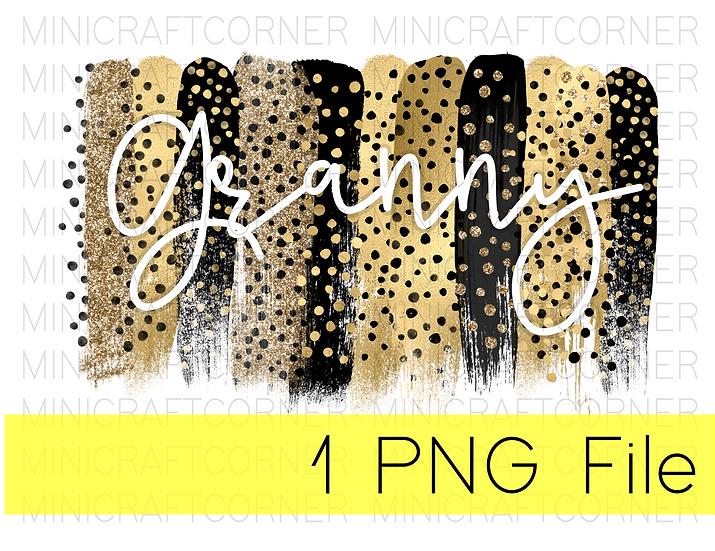 PNG -Granny Cheetah Design File