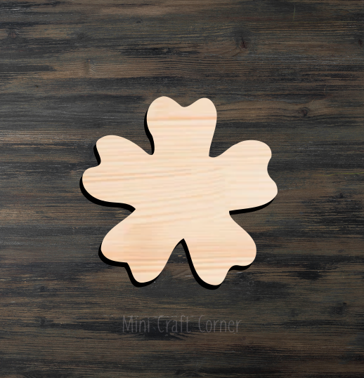 Flower Wooden Cutout
