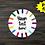 Thumbnail: DIGITAL Teacher Circle Ornament Blank