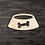 Thumbnail: Dog Bowl Wooden Cutout