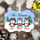 Thumbnail: DIGITAL Sublimation Penguin Ornament