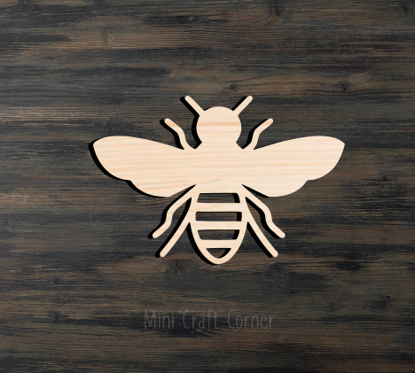 copy of Bumble Bee Wooden Cutout