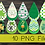 Thumbnail: PNG -St. Patricks Earrings Design File