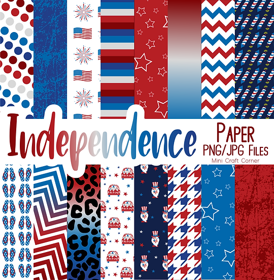 DIGITAL 4th of July Backgrounds