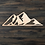 Thumbnail: Mountain Wooden Cutout