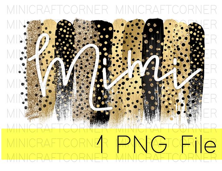 PNG -Mimi Cheetah Design File