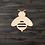 Thumbnail: Bee Wooden Cutout