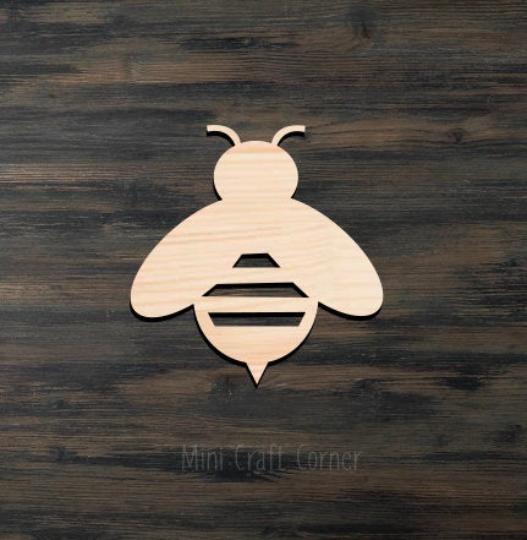 Bee Wooden Cutout