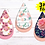 Thumbnail: DIGITAL Sublimation Floral Earrings