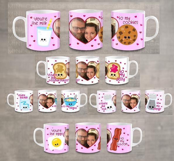 PNG - 5 Valentine's Day Mug Design