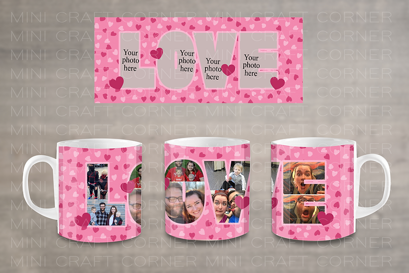 PNG - Valentine's Day Mug Design 6