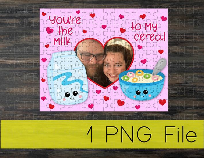 PNG - Valentine's Puzzle Design 2