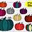 Thumbnail: DIGITAL Pumpkin PNG Files