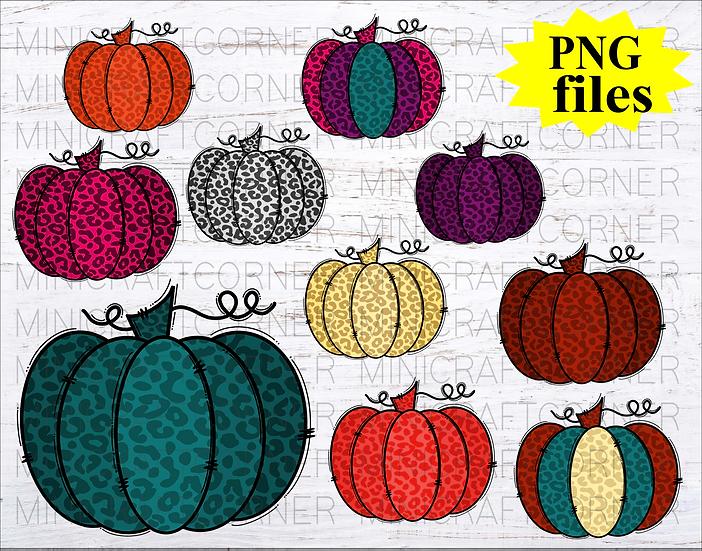 DIGITAL Pumpkin PNG Files