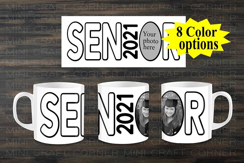 DIGITAL Senior Mug Wraps