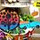 Thumbnail: DIGITAL Fall Tiered Tray SVG