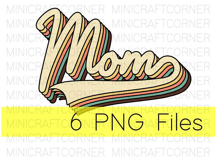 PNG -Mom Layered Design File