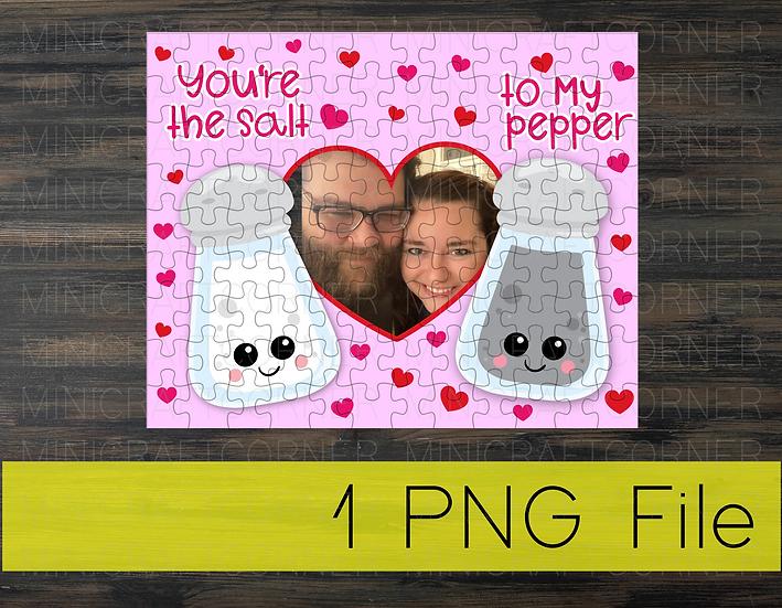 PNG - Valentine's Puzzle Design4