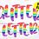 Thumbnail: DIGITAL Rainbow Glitter Letters PNG Files