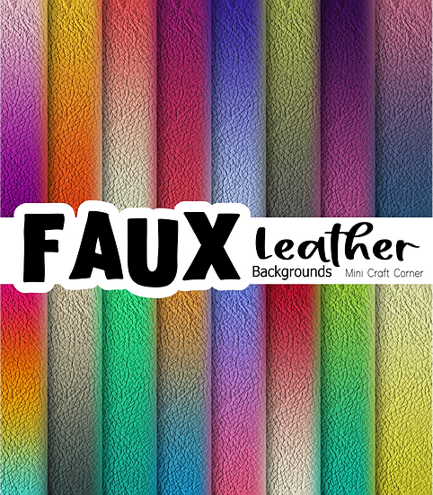 DIGITAL Ombre Leather Backgrounds