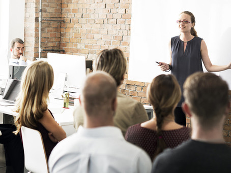 To become an impactful speaker, pursue control before confidence.