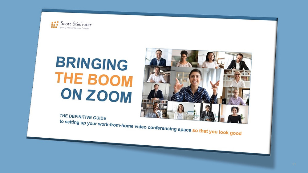 The cover of the definitive guide to looking good on Zoom.