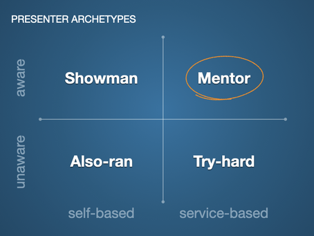 Which presenter archetype do you want to be?