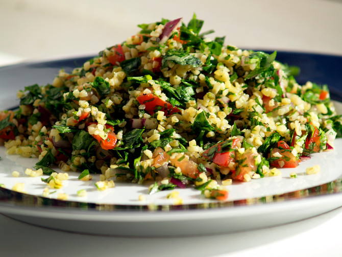 GAW: Tabbouleh and Harissa soup