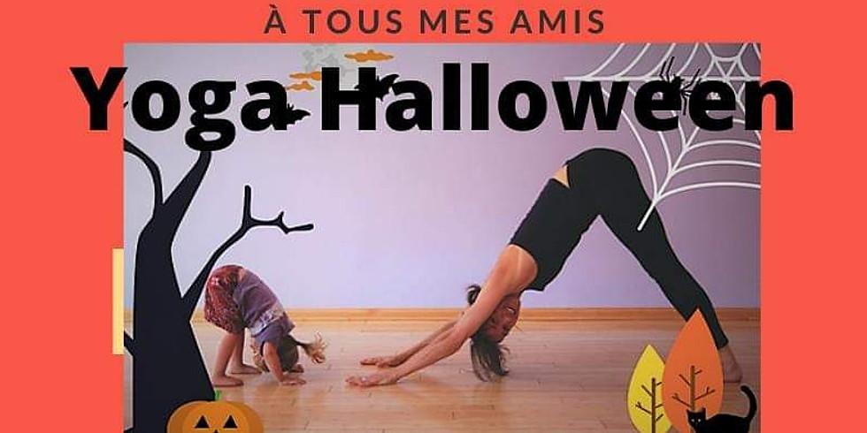 Yoga Halloween petits - GRATUIT